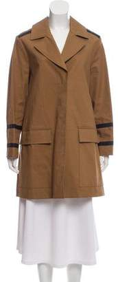 Belstaff Notch-Lapel Short Coat