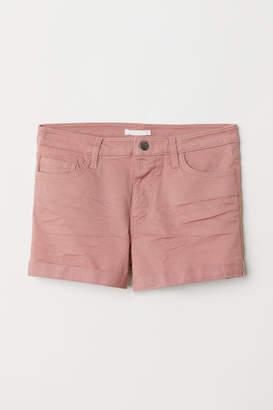 H&M Short Twill Shorts - Pink