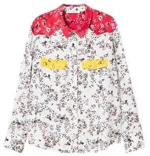 Violeta BY MANGO Floral flowy shirt