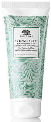 Origins Shower Off Exfoliating Body Wash with Hawaiian Mineral Water