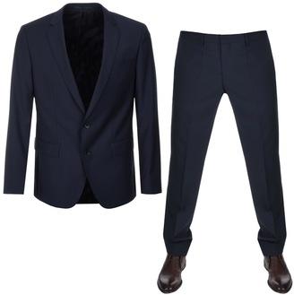 Black Huge5 Genius3 Suit Navy