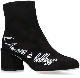 Dolce & Gabbana Vally Ankle Boots 60