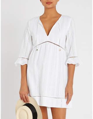 Heidi Klein Palermo broderie-anglaise cotton kaftan 010997646