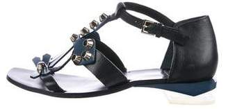 Tory Burch Leather Studded Sandals