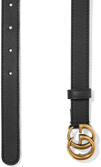 Gucci - Leather Belt - Black 2