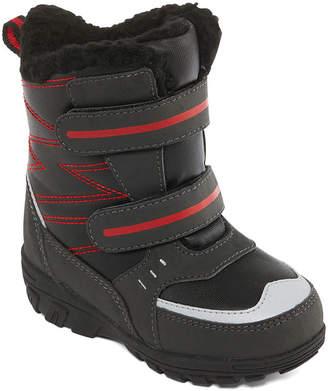 totes Boys Julian Ii Winter Boots Water Resistant Elastic