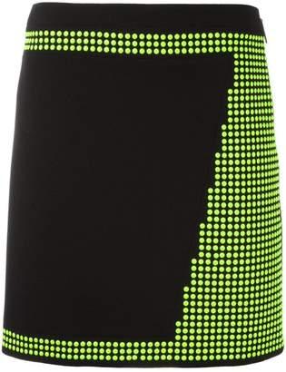 Christopher Kane mini studded skirt