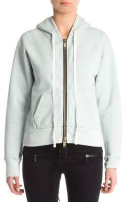 Taverniti So Ben Unravel Project Brushed Basic Zip-Up Hoodie
