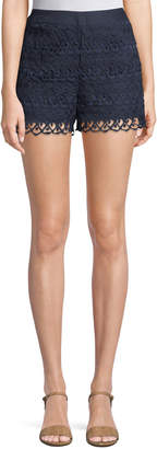 Moon River Crochet Lace Shorts