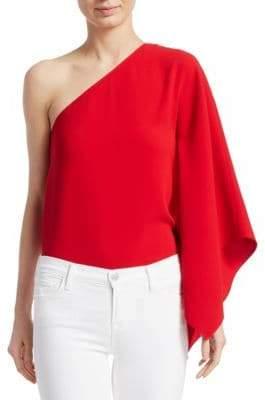 Ralph Lauren Margerie One-Shoulder Top