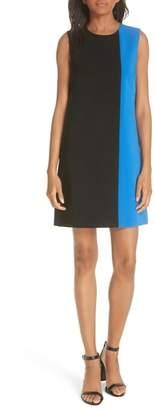 Alice + Olivia Coley Sleeveless Colorblock Dress