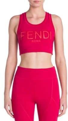 Fendi Logo Sports Bra