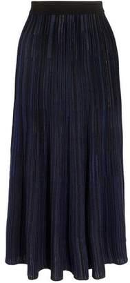 Sonia Rykiel Ribbed-Knit Midi Skirt