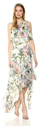 Parker Women's Kimberly Sleeveless Floral Fitted Maxi Dress