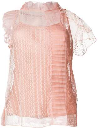3.1 Phillip Lim sheer embroidered blouse