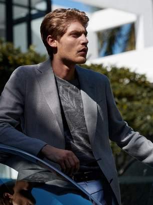 Michael Kors Linen and Wool Blazer