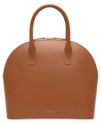 Mansur Gavriel Top Handle Rounded Leather Bag