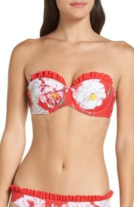 Ted Baker Cesmino Iguazu Frill Underwire Bikini Top
