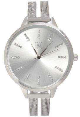 INC International Concepts I.N.C. Women's Stainless Steel Mesh Bracelet Watch 38mm, Created for Macy's