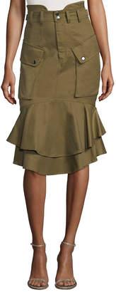 Marissa Webb Cargo Pencil Skirt