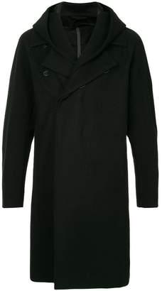 Kazuyuki Kumagai classic coat with hood