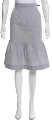 Lena Hoschek Spray Knee-Length Skirt w/ Tags