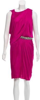 Yigal Azrouel Asymmetrical Draped Dress