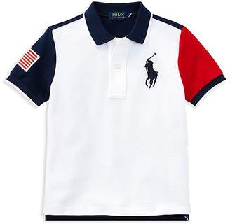 Polo Ralph Lauren Boys' Color-Block Polo - Little Kid