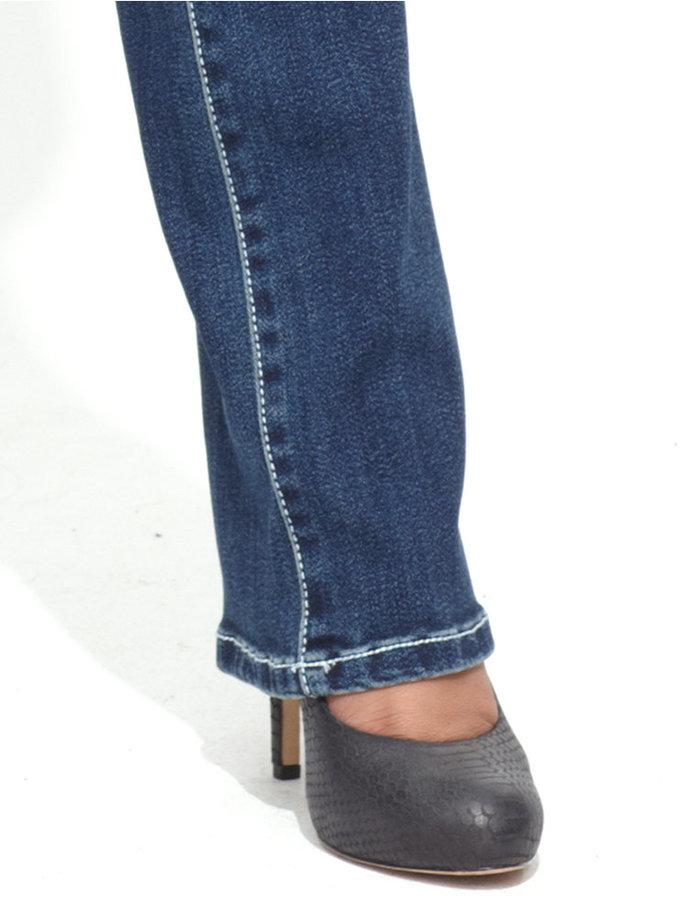 INC International Concepts Curvy-Fit Narrow Bootcut Jeans
