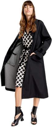 Max Studio double-weave raincoat