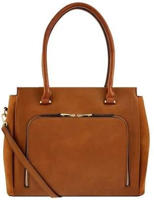 Accessorize Womens Tan Morgan Work Tote Bag - Brown