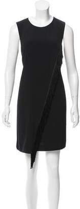 Rebecca Taylor Fringe-Accented Mini Dress w/ Tags