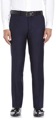 American Designer Navy Slim Fit Wool Suit Pants