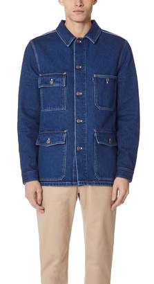 Ami Denim Worker Jacket