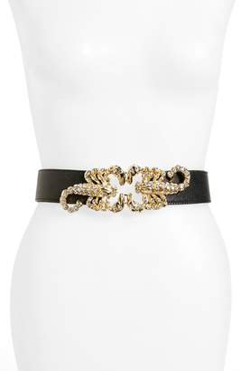 Raina Queen Scorpion Leather Belt