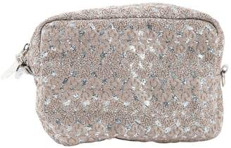 Louison Paris Silver Glitter Clutch Bag
