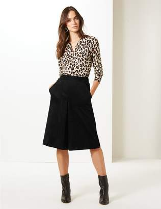 Marks and Spencer A-Line Midi Skirt
