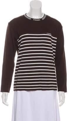 Fendi Wool-Blend Knit Sweater
