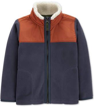 Carter's Baby Boys Zip-Up Fleece Jacket