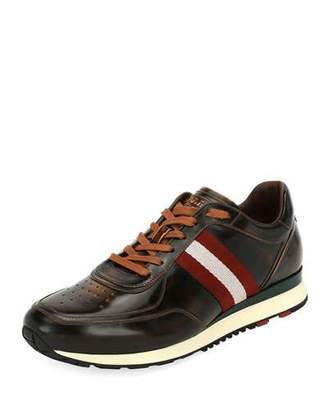 Bally Men's Aston Leather Running Sneakers