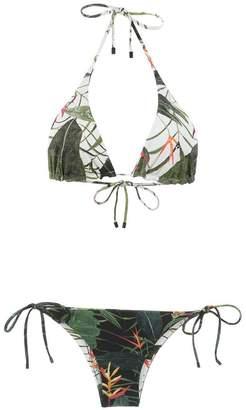 OSKLEN printed bikini