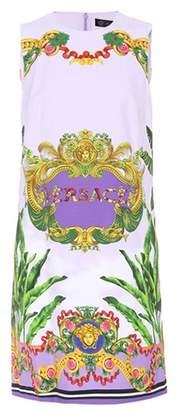 Versace Printed sleeveless dress