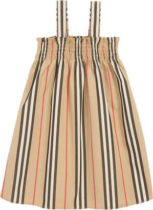 Burberry Mini Junia Stripe Dress