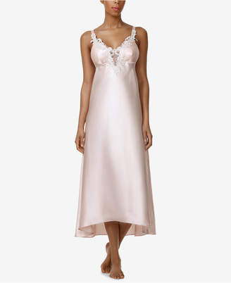 Flora Nikrooz Flora by Stella Satin Venise Trim Nightgown