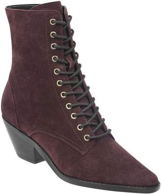 Marc Fisher Bowie Lace-Up Boot