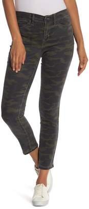 Nicole Miller Camo High Rise Skinny Jeans