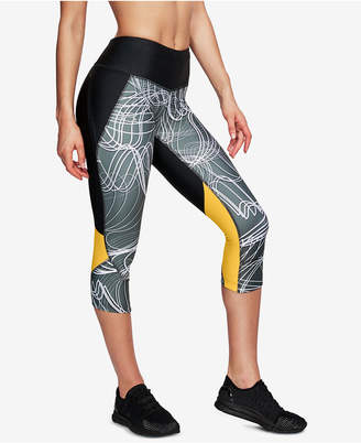 Under Armour (アンダー アーマー) - Under Armour Fly Fast HeatGear Printed Cropped Compression Leggings