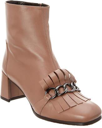 Stuart Weitzman Ringtone Leather Bootie