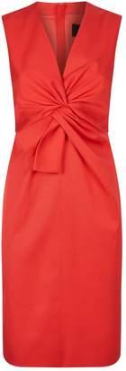 Paule Ka Waist Detail Shift Dress