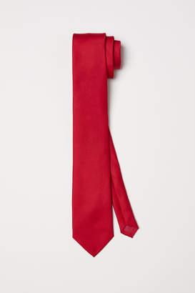 H&M Satin Tie - Red
